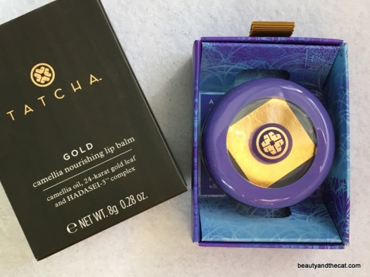 01 Tatcha Gold Camellia Nourishing Lip Balm Review