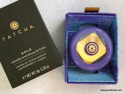 01 Tatcha Gold Camellia Nourishing Lip Balm Review