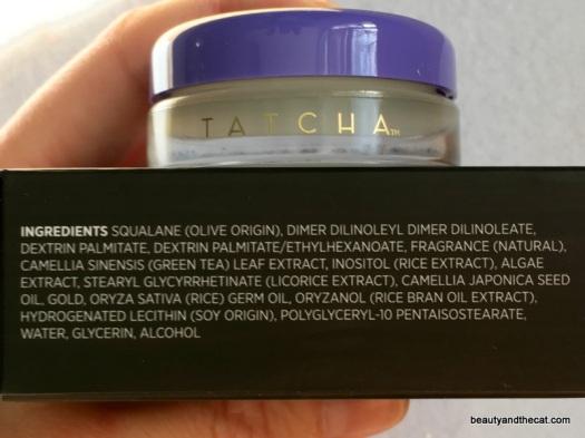 04 Tatcha Gold Camellia Nourishing Lip Balm Review