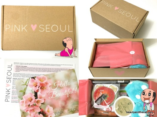 02 Pink Seoul Unboxing