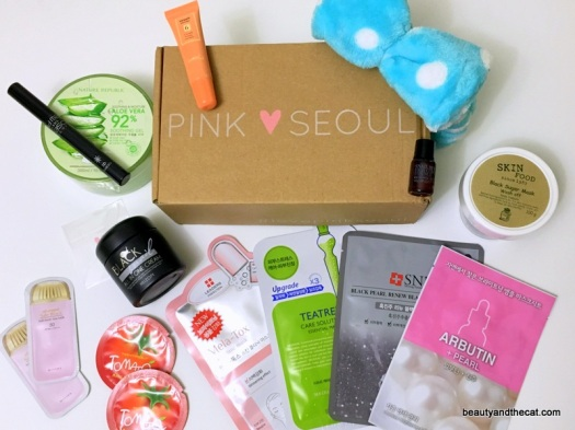 06 Pink Seoul March April 2016 Unboxing