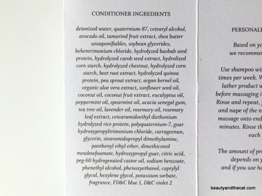 08 Function of Beauty Conditioner Ingredients