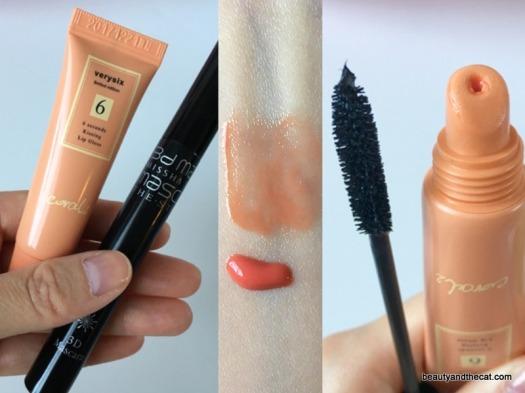 12 Verysix 6 Seconds Lip Gloss Coral Missha 3D Mascara Review