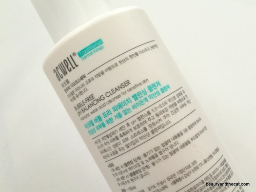 04 Acwell Low pH Cleanser Review