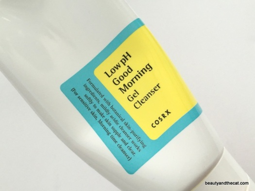 06 COSRX Low pH Good Morning Gel Cleanser Review