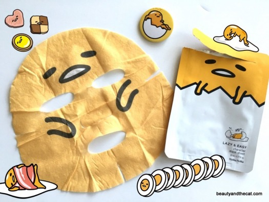 02 Holika Holika Gudetama Lazy Easy Mask Sheet Review