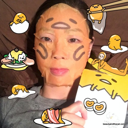 04 Holika Holika Gudetama Lazy Easy Mask Sheet Review
