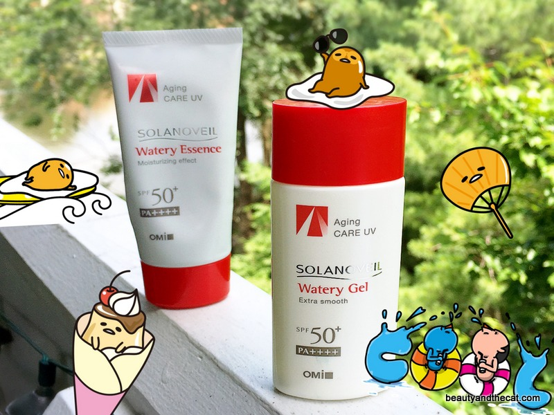 Good Day Funshine: Solanoveil Watery Essence vs. Watery Gel Review & Comparison