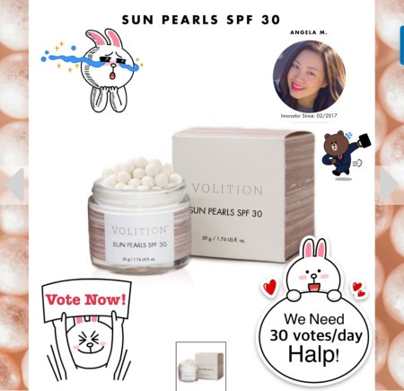 BeautyandtheCat Sunscreen Sun Pearls