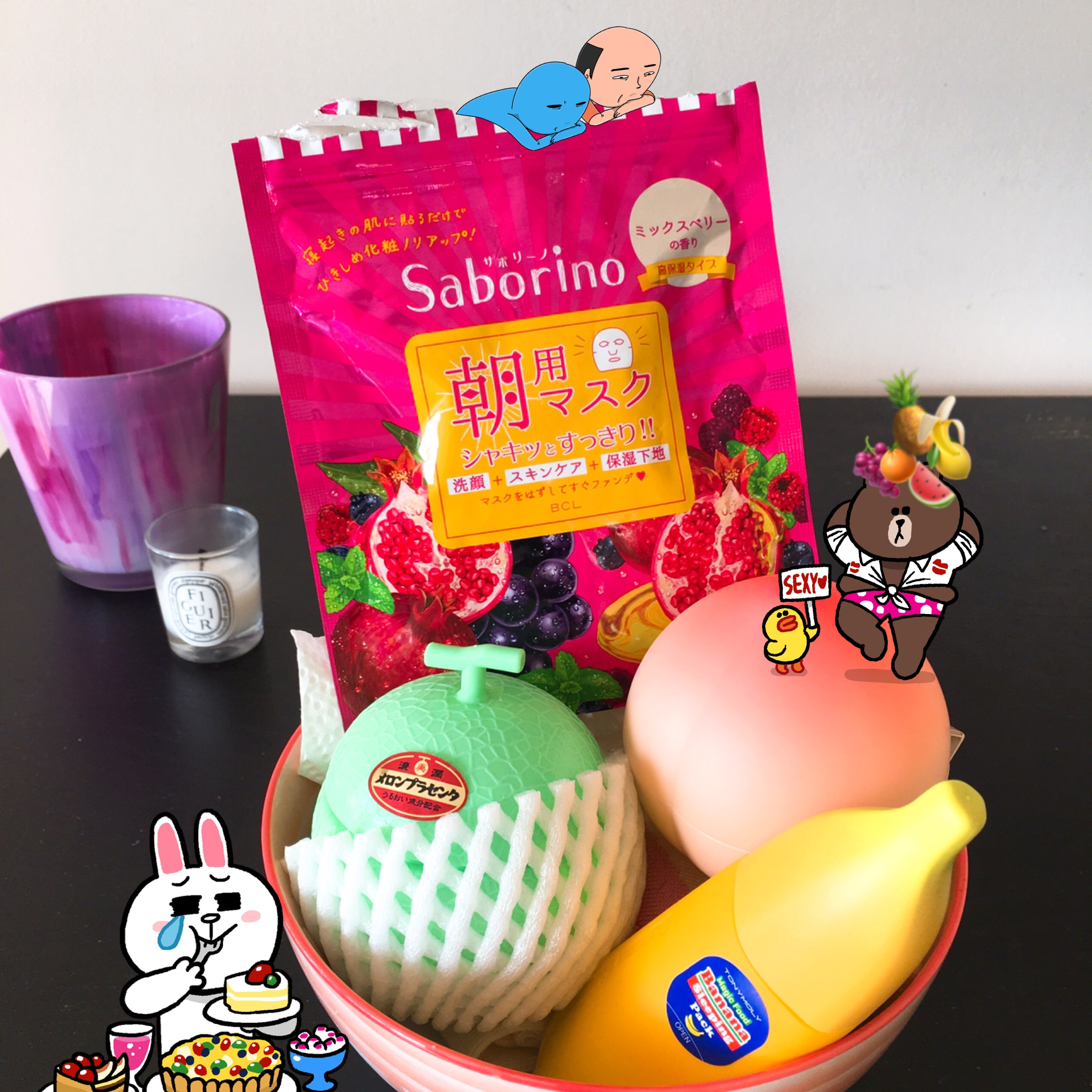 An Exercise in Fruitility? Saborino Morning Mask Review