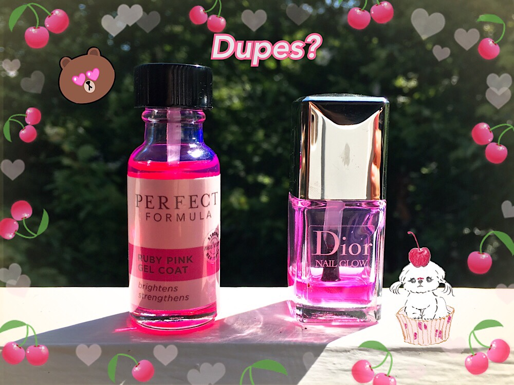 Dior Di-throned: Perfect Formula Ruby Pink Gel Coat Review ...